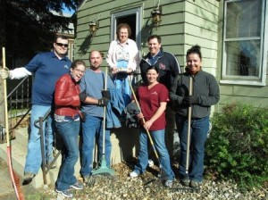 group-raking